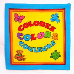 """Colores, Colors, Couleurs""  Fabric Book"