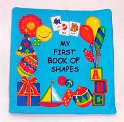 """""""My First Book of Shapes""""  Fabric Book"""