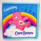"""Counting 1..2..3..4..5..6..7..8..9..10 - Care Bears""  Fabric Book"