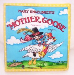 """""""Mother Goose""""  Fabric Book"""