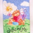 """Jesus and Me""  Fabric Book"