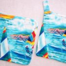 """Sailing"" Potholder Set"