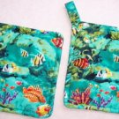 """Under the Sea"" Potholder Set"