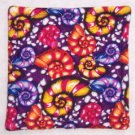 """Colorful Shells"" Coaster Set of 4"