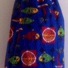 """""""Fish / Blue"""" Grocery Bag Holder"""