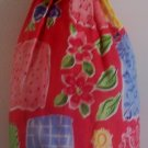 """Abstract Red "" Grocery Bag Holder"