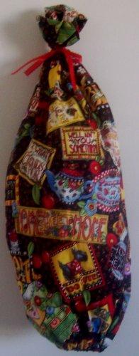 """Mary's Mottos"" Grocery Bag Holder"