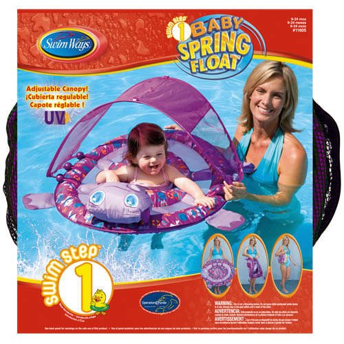 Baby Spring Float w/Canopy