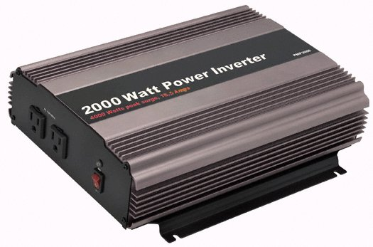 2000 Watt Continuous Power Inverter (4000 Watt Surge)