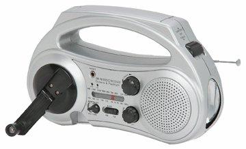 AM/FM Band Dynamo Radio