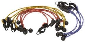 12 Piece Adjustable Tarpaulin Tie Down Cords