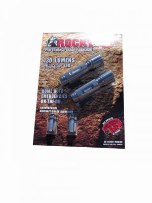 Rocky - Performance Grade L.E.D. Flashlight (2ct.)
