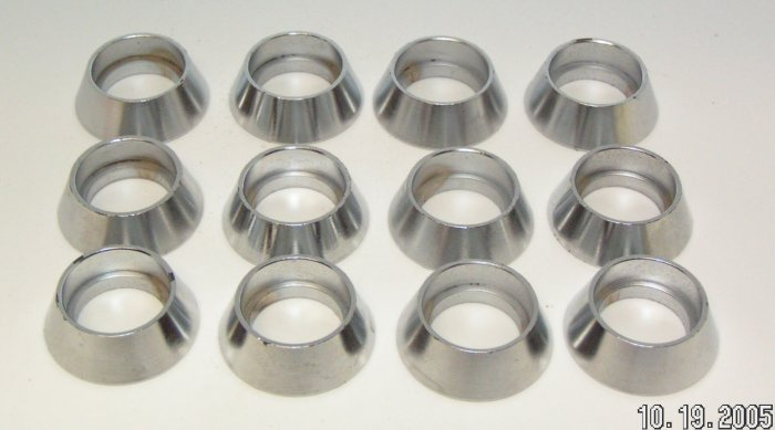 Vending Switch Security Rings Protective Collars Nickel 12 Lot