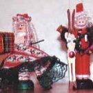 Santa and Mrs. Claus set -white