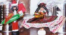 Santa & Mrs. Claus set -African American
