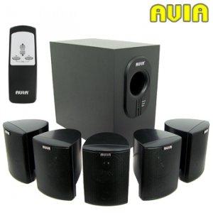 Avia 7-Piece 5.1 Home Theater Speaker System
