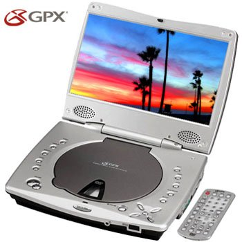 "GPX Portable DVD Player 8.5"" Wide Screen"