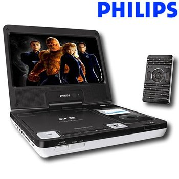 "Philips 8.5"" Widescreen DVD Player"