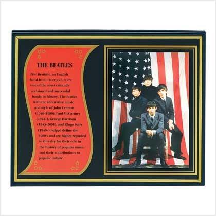 Beatles Biography Plaque