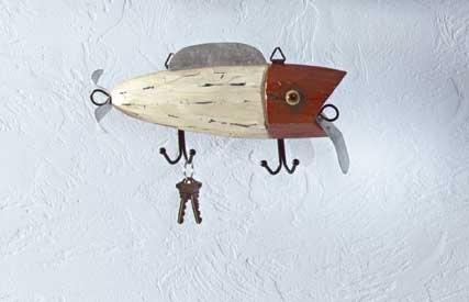 Fishing Lure Key Hanger