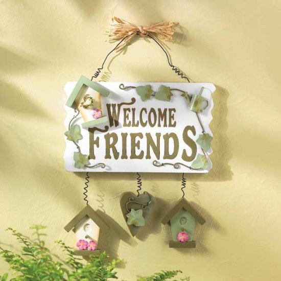 Welcoming Plaque