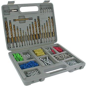 301 Piece Titanium Drill Bit Set