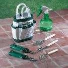 Garden Tool Set With Canvas Tote