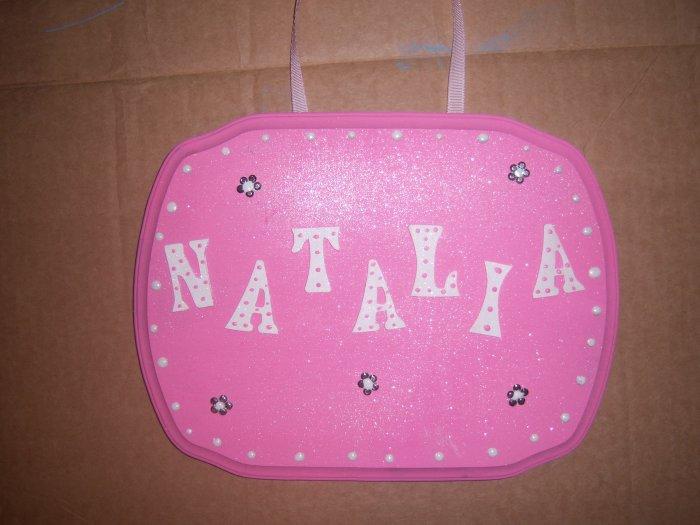 Girl Backboard Name