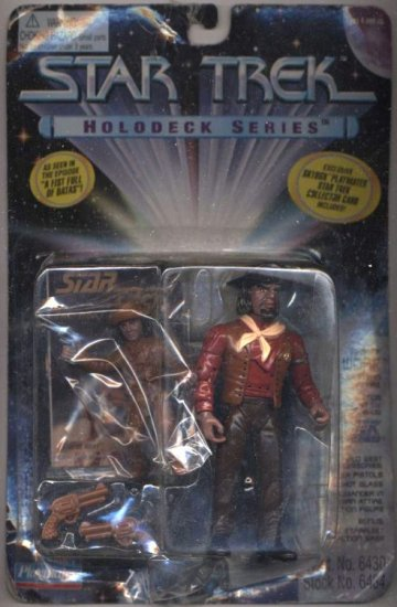 Star Trek TNG Next Generation Sheriff Worf Playmates Action Figure New Mint