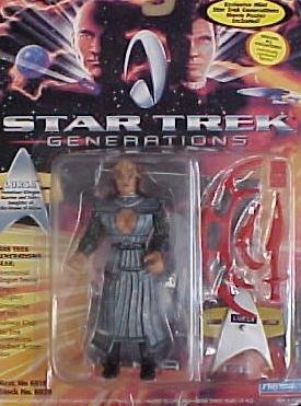 Star Trek TNG Next Generation Movie Lursa Playmates Action Figure New Complete