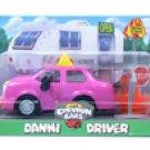 Retired Chevron Car Danni Driver Brand New! Number 11 1998 Complete Rare!