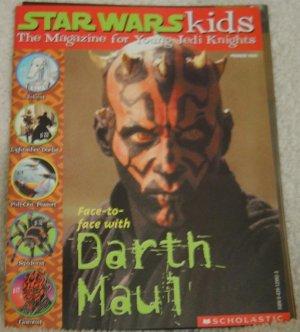 Rare 1999 Scholastic Star Wars Kids Darth Maul Magazine Episode 1 New Posters