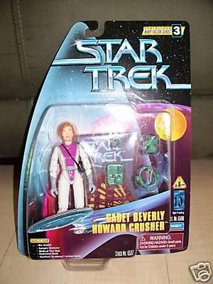Star Trek Next Generation Cadet Beverly Crusher Playmates Action Figure New Mint