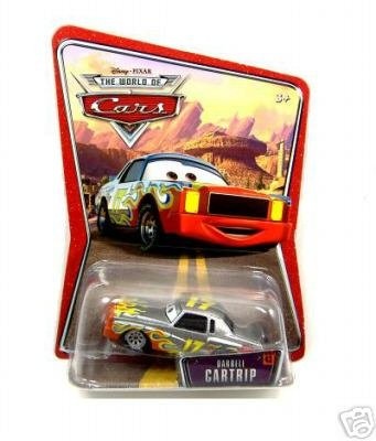 Disney Pixar Cars Movie Darrell Cartrip New Mint Die Cast Rare 17 Waltrip