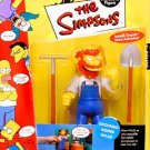 Groundskeeper Willie Series 4 WOS Playmates Action Figure World of Springfield Funny