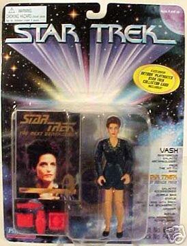 Star Trek TNG Deep Space 9 DS9 Vash Playmates Action Figure New
