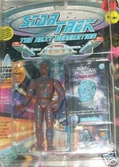 Star Trek TNG Next Generation Geordi LaForge Tarchannen Alien Playmates Action Figure New