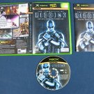 Chronicles of Riddick Escape From Butcher Bay xbox Vin Diesel Complete Disc Manual & Box!