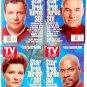 30th Anniversary Star Trek Captains TV Guides Rare Captain Kirk Picard Janeway August 24-30 1996