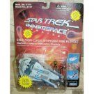 Star Trek Excelsior Class Starship Mini Playset w/ Riker & LaForge Innerspace Series Playmates