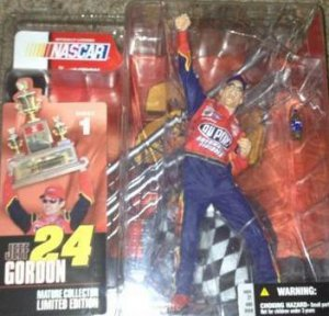 NEW ACTION MCFARLANE JEFF GORDON SERIES 1 ACTION FIGURE VARIANT DEBUT ROOKIE