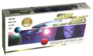 STAR TREK Next Generation INTERACTIVE VCR BOARD GAME Klingon Challenge Complete