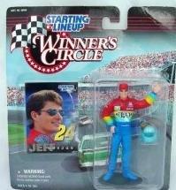 1997 JEFF GORDON Rookie Dupont Winner Circle Starting Lineup NASCAR SLU Rainbow Debut Warriors