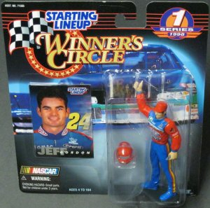 1998 JEFF GORDON Dupont Winner Circle Starting Lineup NASCAR SLU Automotive New