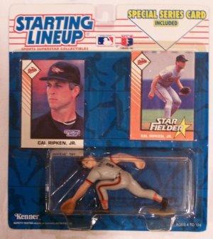 1993 STARTING LINEUP CAL RIPKEN JR MLB SLU Orioles Ironman Action Figure Star Baltimore