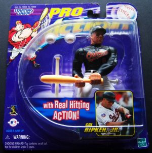 1998 STARTING LINEUP CAL RIPKEN JR MLB SLU Orioles Ironman Action Figure Star