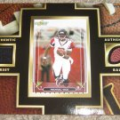 Upper Deck Authentic Ball & Jersey Michael Vick Game Used Worn Atlanta Falcons Trading Card