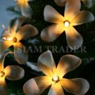 100 BULB WHITE FLOWER PARTY / CHRISTMAS STRING LIGHT