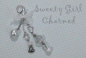 Hearts & Beads Key Chain