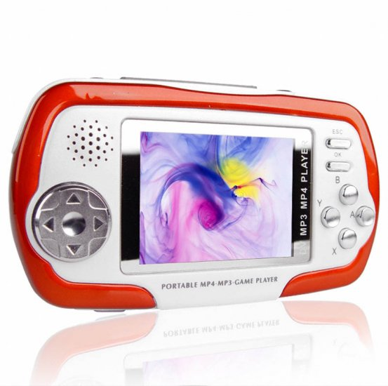 MP4 GAME 2.5 INCH WITH CAMCORDER 2GB (6 PIECES)